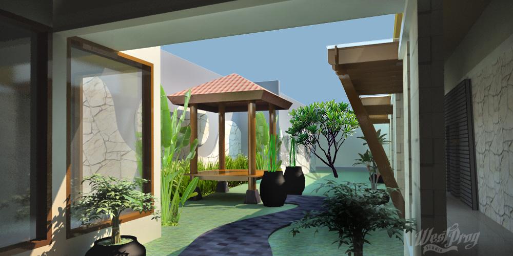 Taman proyek Flaurent Seturan ada perubahan dari desain awalnya
