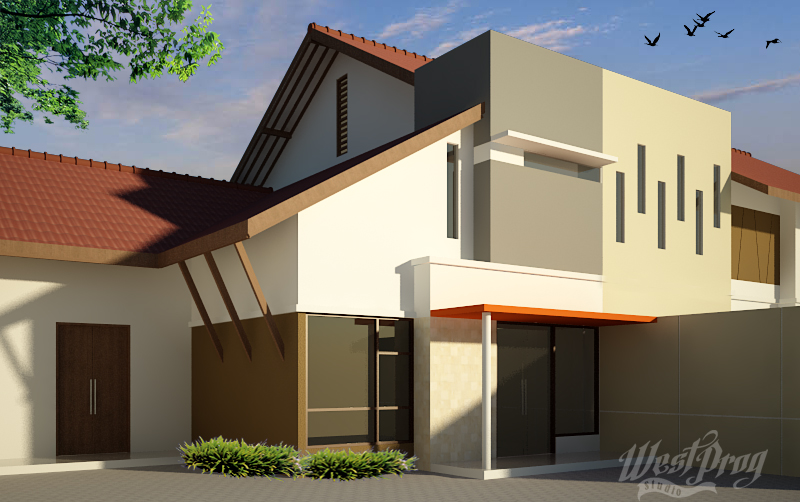 Atap Rumah disulap jadi Poliklinik lokasi di Sukoharjo Jawa Tengah