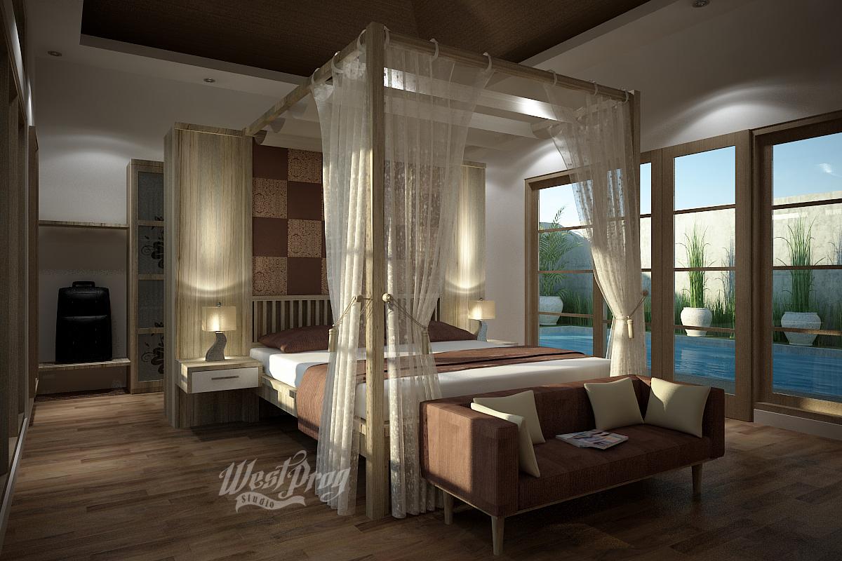 Kamar Tidur Rumah Watu Gede