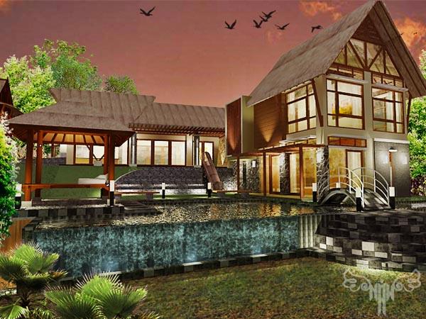 Mrs.Ewie Villa At Yogyakarta