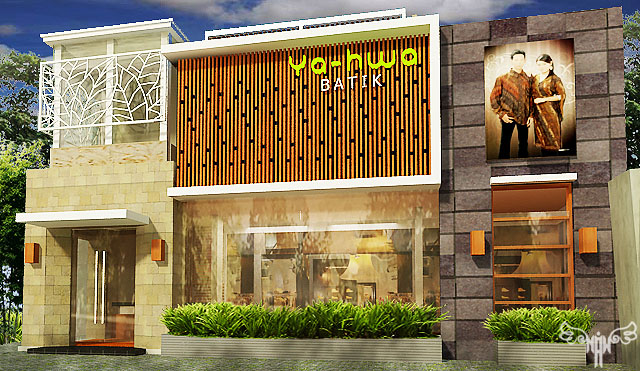 Ya-Halwa Batik Boutique At Bantul